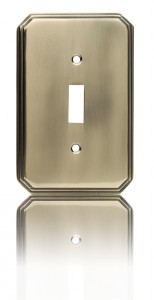 Square Deco Switch Plate